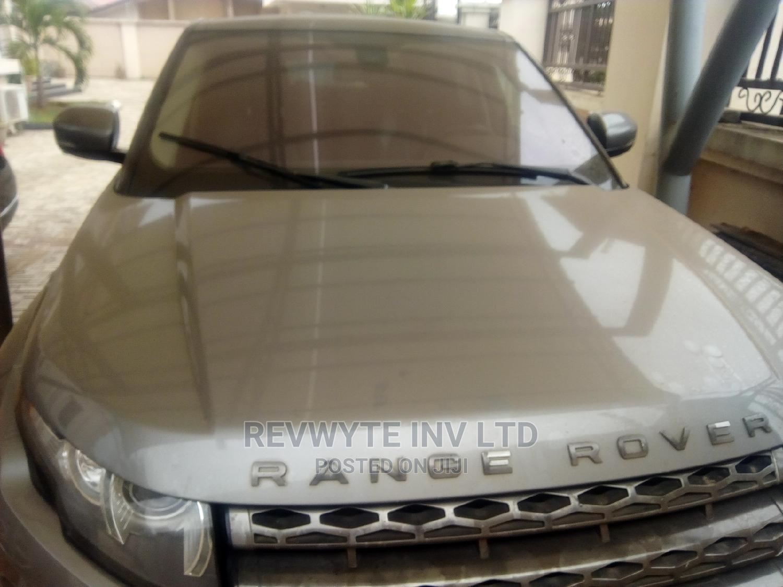 Archive: Land Rover Range Rover Evoque 2015 Gray