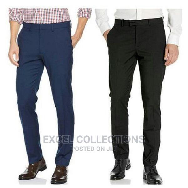 Office Plain Trouser for Men 2 in 1