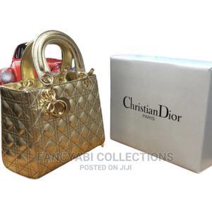Fancy Golden Gold Dior Bag   Bags for sale in Delta State, Warri