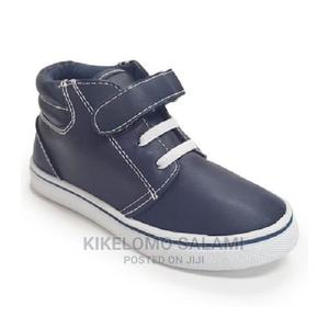 Jelly Bean Navy Blue Hi-Top Sneakers | Children's Shoes for sale in Lagos State, Alimosho