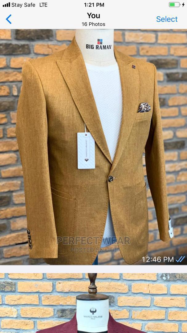 Gold Turkish Blazer
