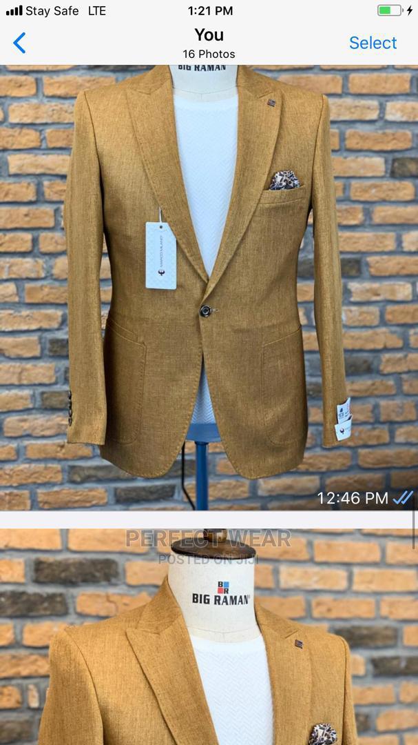 Gold Turkish Blazer   Clothing for sale in Lagos Island (Eko), Lagos State, Nigeria