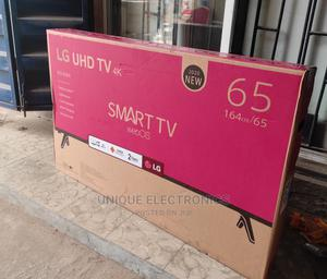 New Made Uhd TV 4K Smart 65'' Ultra High Definition +Bracket | TV & DVD Equipment for sale in Lagos State, Ogba