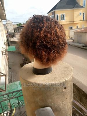 Curly Virgin Human Hair Wig. | Hair Beauty for sale in Lagos State, Ajah