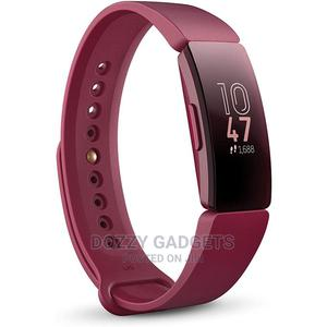 Fitbit Inspire Fitness Tracker - Sangria   Smart Watches & Trackers for sale in Lagos State, Ikeja