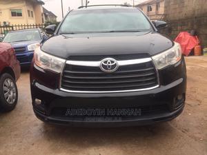 Toyota Highlander 2015 Black   Cars for sale in Lagos State, Magodo