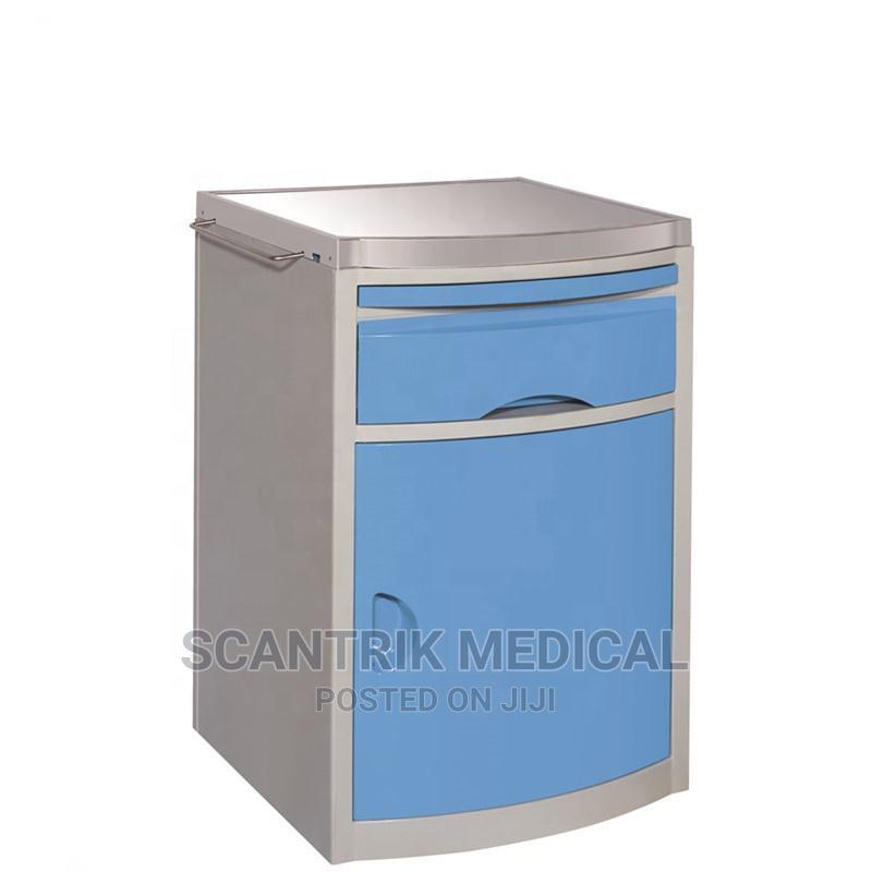 Plastic Hospital Storage Furniture Medical Bedside