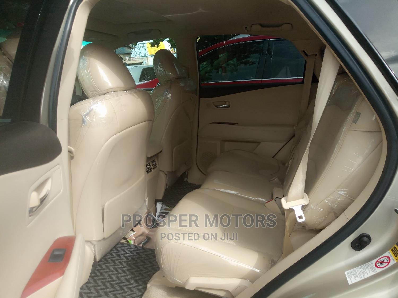 Lexus RX 2011 350 Gold | Cars for sale in Apapa, Lagos State, Nigeria