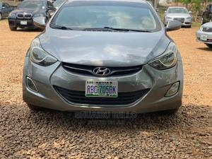 Hyundai Elantra 2013 Gray   Cars for sale in Abuja (FCT) State, Central Business District