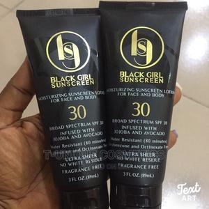 Black Girl Sunscreen for Face and Body SPF 30 | Skin Care for sale in Lagos State, Ikorodu