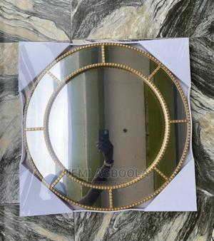 Gold Decorative Wall Mirror | Home Accessories for sale in Lagos State, Ikeja