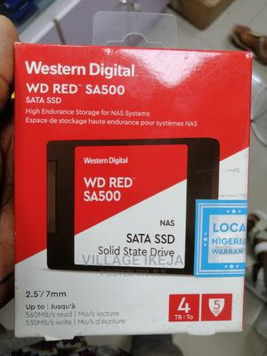 Western Digital WD Red SA500 Sata Ssd NAS 4TB   Computer Hardware for sale in Lagos State, Ikeja