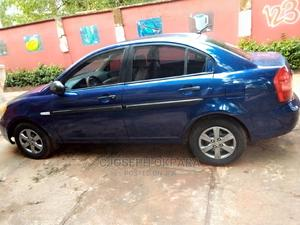 Hyundai Accent 2007 1.6 Blue | Cars for sale in Anambra State, Nnewi