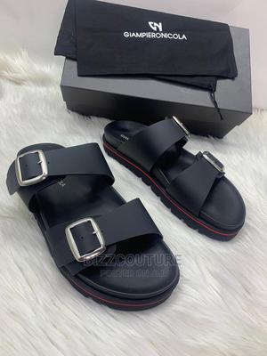 High Quality Giampieronicola Italian Sandals for Men   Shoes for sale in Lagos State, Magodo