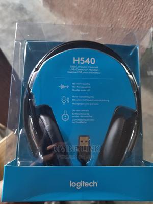H540 Logitech Headphone | Headphones for sale in Lagos State, Ikeja