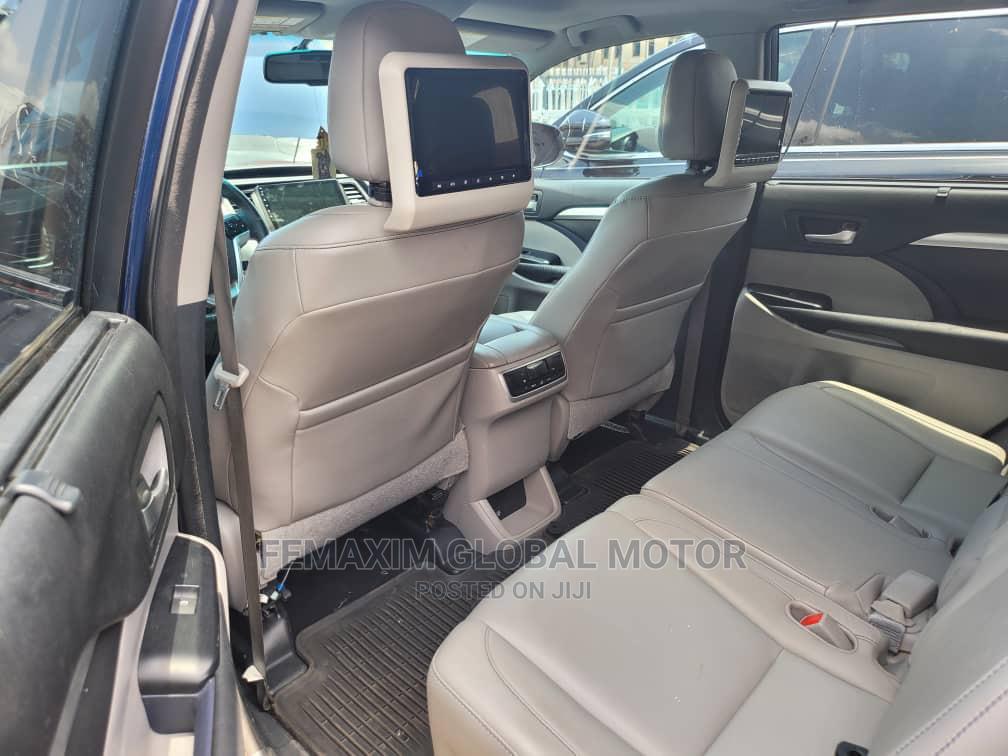 Toyota Highlander 2015 Blue   Cars for sale in Ibadan, Oyo State, Nigeria