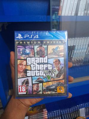 Ps4 GTA v Premium Edition | Video Games for sale in Lagos State, Ikeja