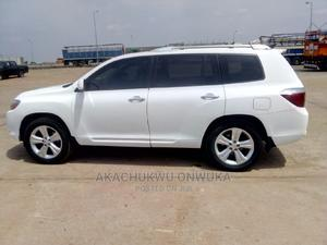 Toyota Highlander 2008 White   Cars for sale in Abuja (FCT) State, Gwagwalada