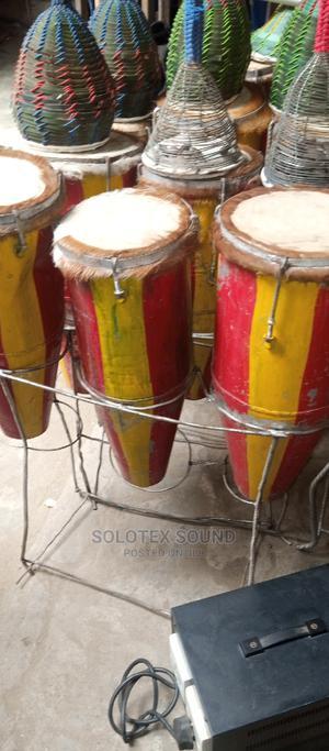 Original 3set Local Conga Drum | Musical Instruments & Gear for sale in Lagos State, Oshodi