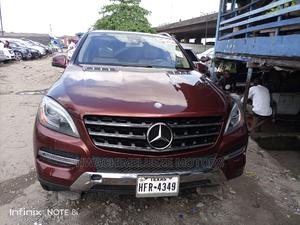 Mercedes-Benz M Class 2013 ML 350 4Matic Red | Cars for sale in Lagos State, Apapa
