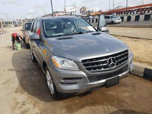 Mercedes-Benz M Class 2013 ML 350 4Matic Gray   Cars for sale in Lagos State, Ikeja