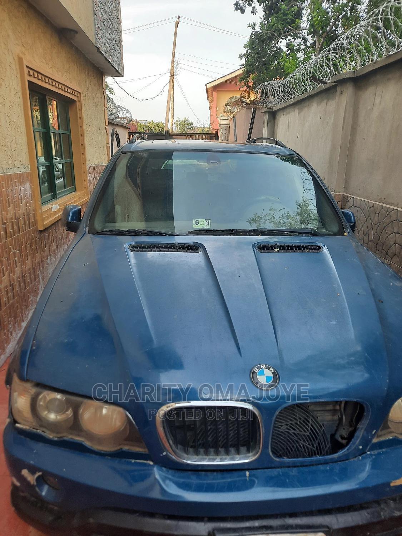 Archive: BMW X5 2004 3.0i Sports Activity Blue