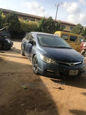 Honda Civic 2006 1.8i-Vtec EXi Automatic Blue | Cars for sale in Lagos State, Alimosho