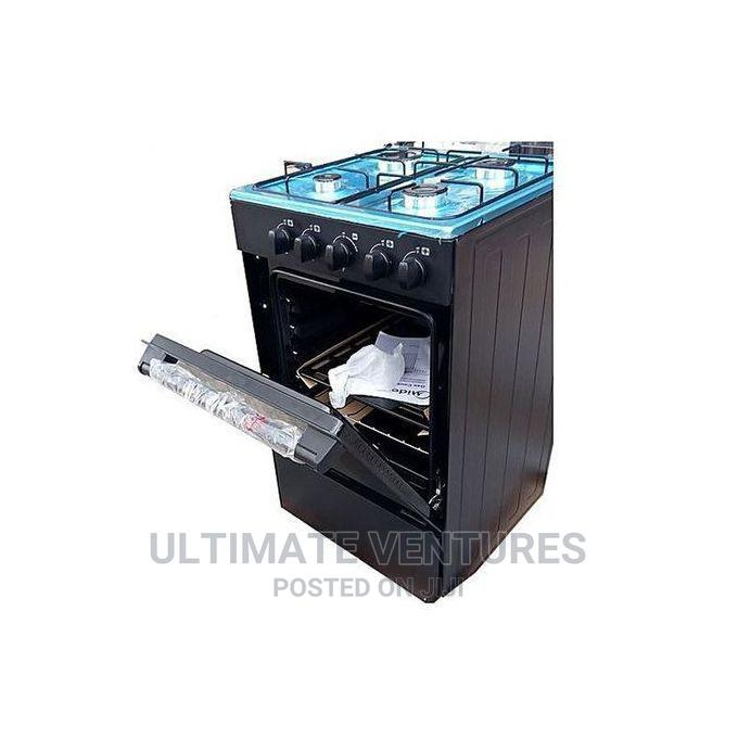 Archive: Midea 4 Burner Gas Cooker With Oven and Grill