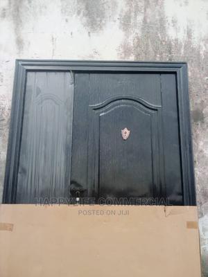 Black Entrance Door   Doors for sale in Lagos State, Amuwo-Odofin