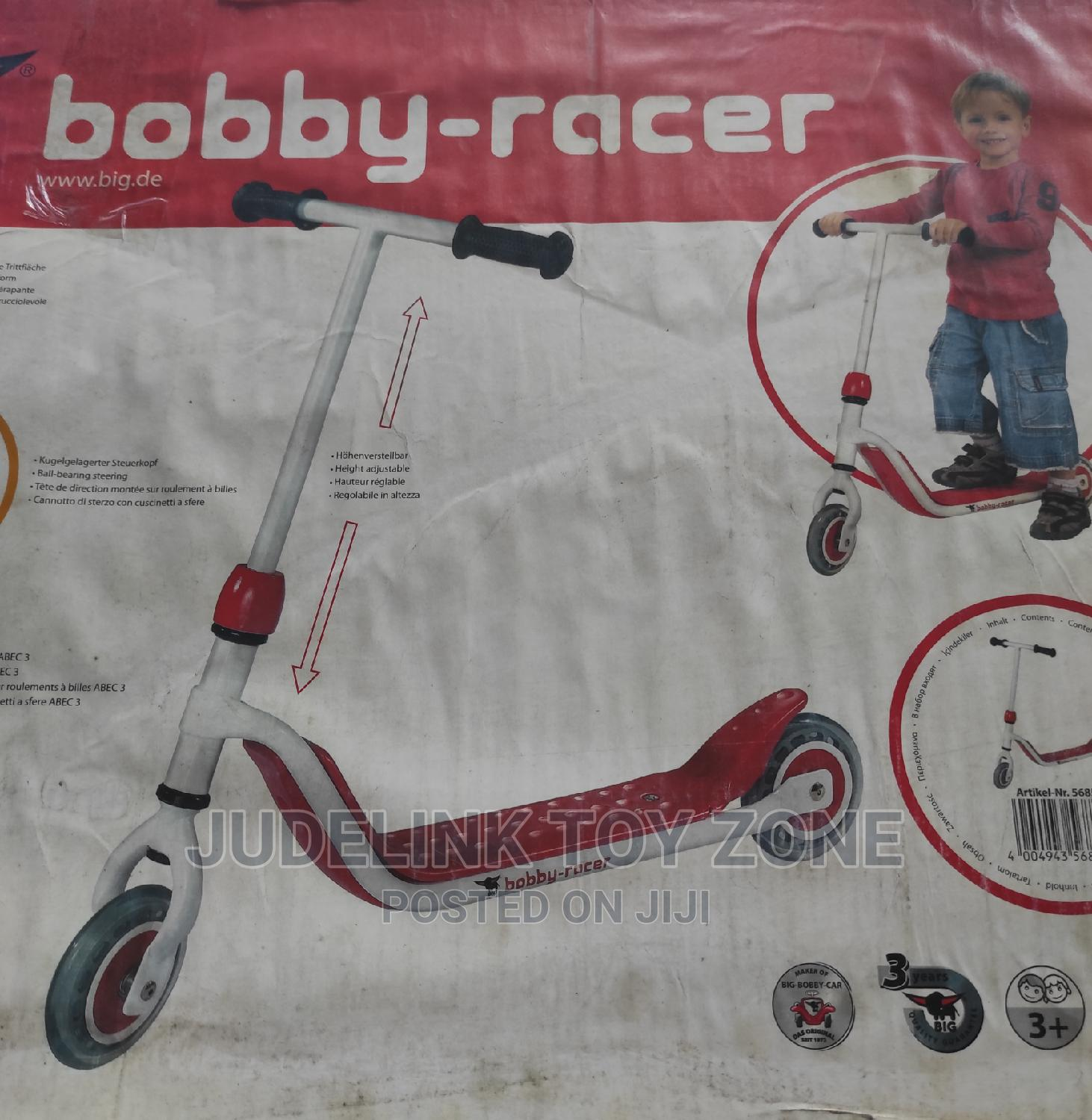 BIG Bobby Racer Scooter