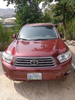 Toyota Highlander 2008 Red | Cars for sale in Abuja (FCT) State, Wuse