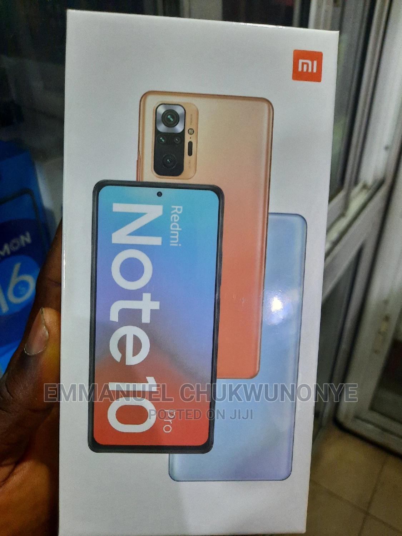 New Xiaomi Redmi Note 10 Pro 128 GB Blue   Mobile Phones for sale in Ikeja, Lagos State, Nigeria