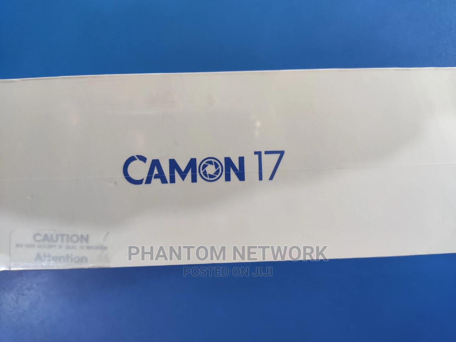 New Tecno Camon 17 128 GB Blue   Mobile Phones for sale in Wuse 2, Abuja (FCT) State, Nigeria