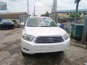 Toyota Highlander 2009 White   Cars for sale in Lagos State, Ikeja
