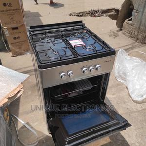 New Maxi Cooker 4 Gas Burner Auto Ignition + Oven Grill | Kitchen Appliances for sale in Lagos State, Ojo