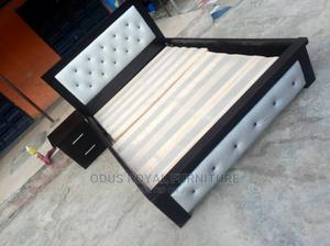 Quality Made Wooden Bed | Furniture for sale in Lagos State, Ikeja