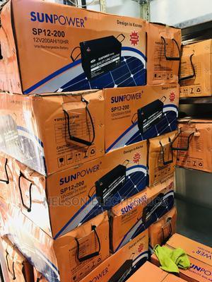 Sun Power Solar Inverter Battery 12v 200ahs With Warranty   Solar Energy for sale in Ekiti State, Ado Ekiti