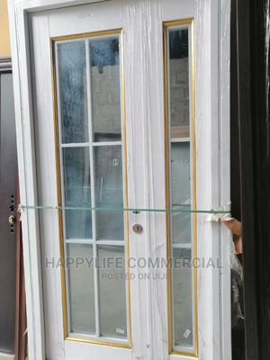White 4ft French Door for Entrance   Doors for sale in Lagos State, Amuwo-Odofin