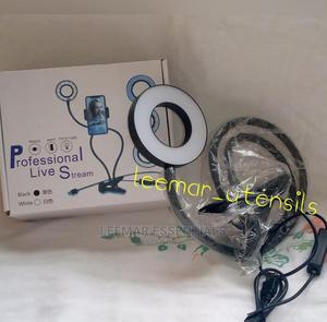 Selfie Ring Light With Phone Holder | Home Accessories for sale in Lagos State, Abule Egba