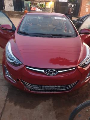 Hyundai Elantra 2015 Red   Cars for sale in Abuja (FCT) State, Lugbe District