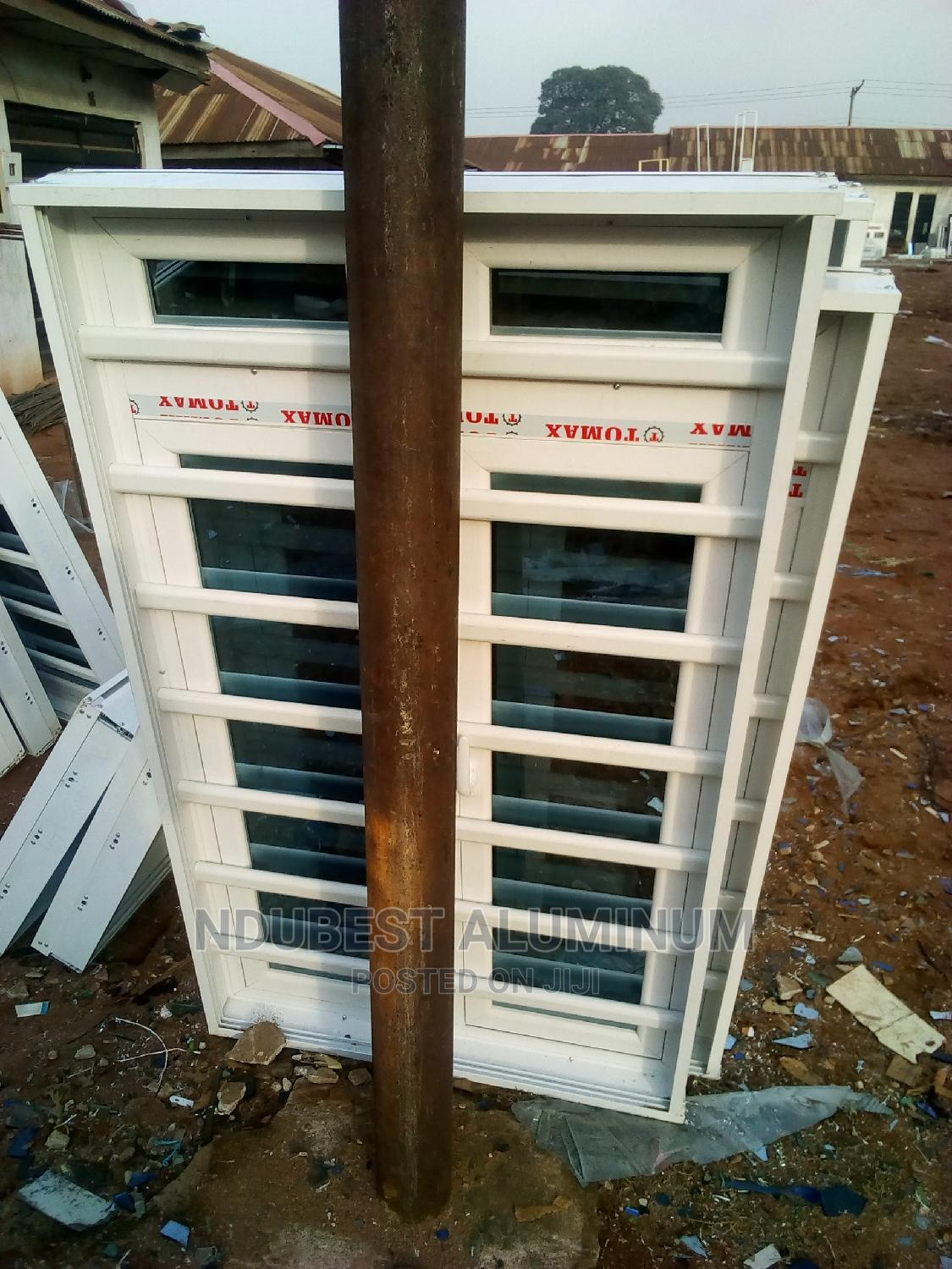 3 by 5 Casement Windows With Protector and Net | Windows for sale in Onitsha, Anambra State, Nigeria