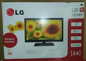 LG 24 Inches LED TV   TV & DVD Equipment for sale in Lagos State, Magodo