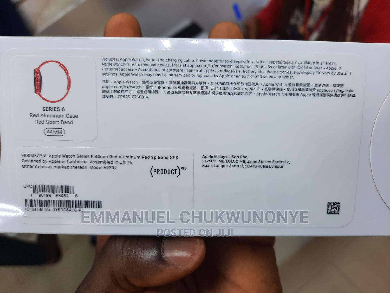 New Apple Iwatch Series 6 44mm GPS | Smart Watches & Trackers for sale in Ikeja, Lagos State, Nigeria