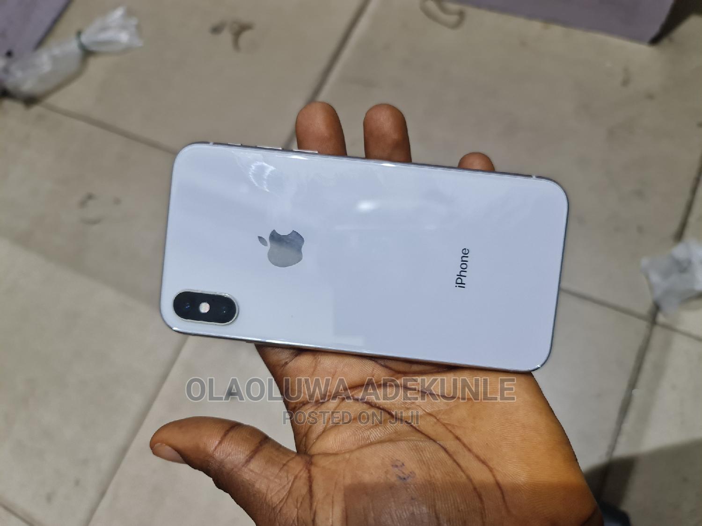 Apple iPhone X 64 GB Silver   Mobile Phones for sale in Ibadan, Oyo State, Nigeria