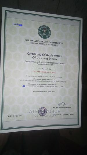 Business Registration, With Other Benefits   Legal Services for sale in Lagos State, Ikeja