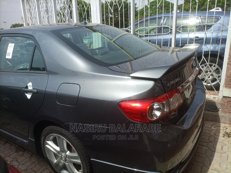 Toyota Corolla 2013 Gray   Cars for sale in Kaduna / Kaduna State, Kaduna State, Nigeria