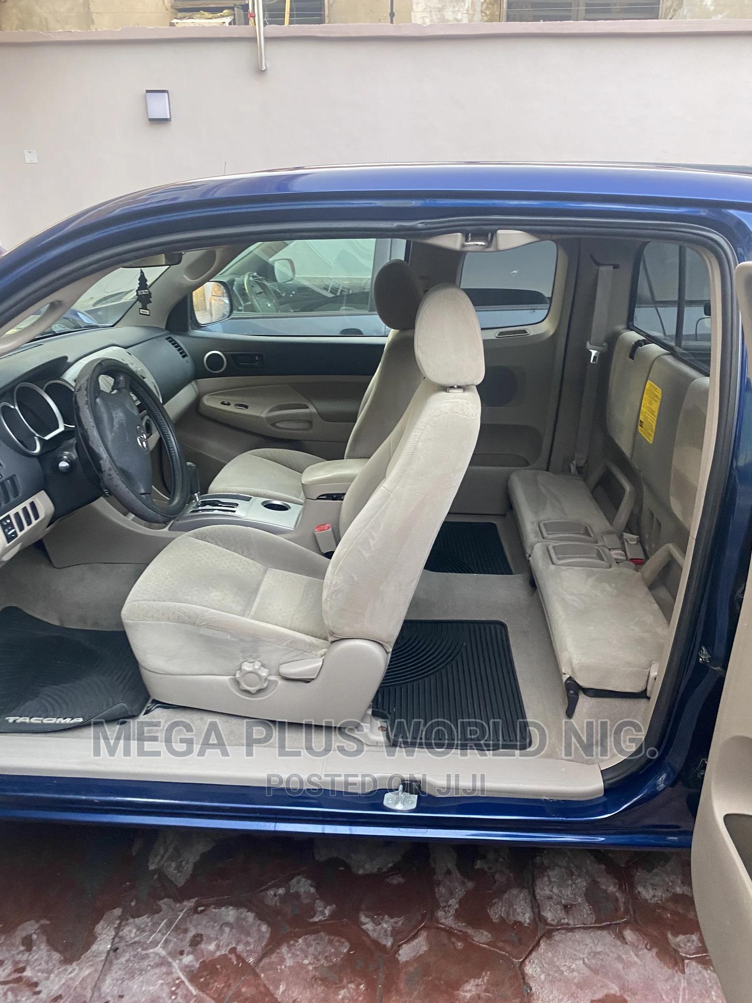 Toyota Tacoma 2008 Access Cab Blue | Cars for sale in Surulere, Lagos State, Nigeria