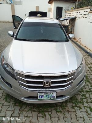 Honda Accord CrossTour 2010 EX-L Silver | Cars for sale in Abuja (FCT) State, Gwarinpa