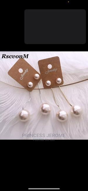 Korean Pearl Tassel Earrings   Jewelry for sale in Abuja (FCT) State, Gwarinpa