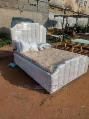 Padded Classic Bed.   Furniture for sale in Lagos State, Lagos Island (Eko)
